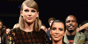 Kim Kardashian shared a video listening to Taylor Swift. Is the feud over?