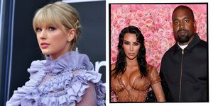 Taylor Swift Kim Kardashian Kanye West feud