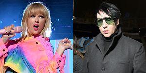 Taylor Swift en Marilyn Manson