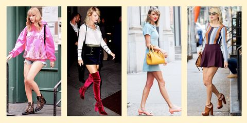 8c2e2c2443f Taylor Swift Street Style - Cute Taylor Swift Outfits and Looks to Copy