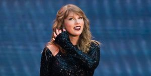 Taylor Swift Performs At Wembley Stadium