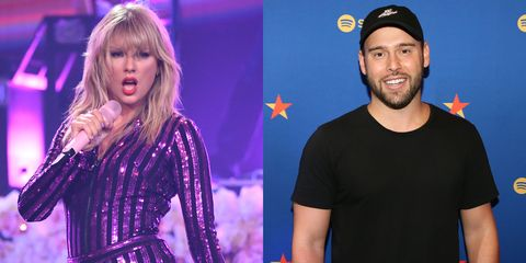 taylor swift and scooter braun