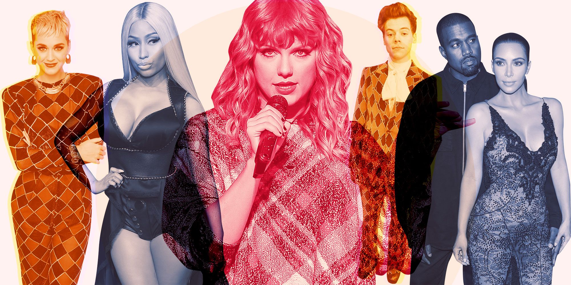 Taylor Swift\'s Shadiest Moments - Taylor Swift Feuds With Other ...