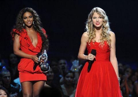 Beyonce Taylor Swift 2009 MTV Video Music Awards