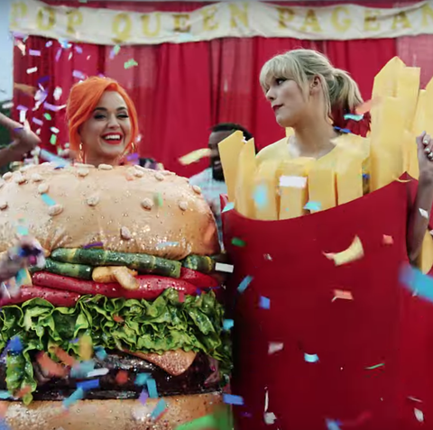 Taylor Swift's 'You Need To Calm Down' music video has Katy Perry reconciliation, plus RuPaul, Ellen DeGeneres and more