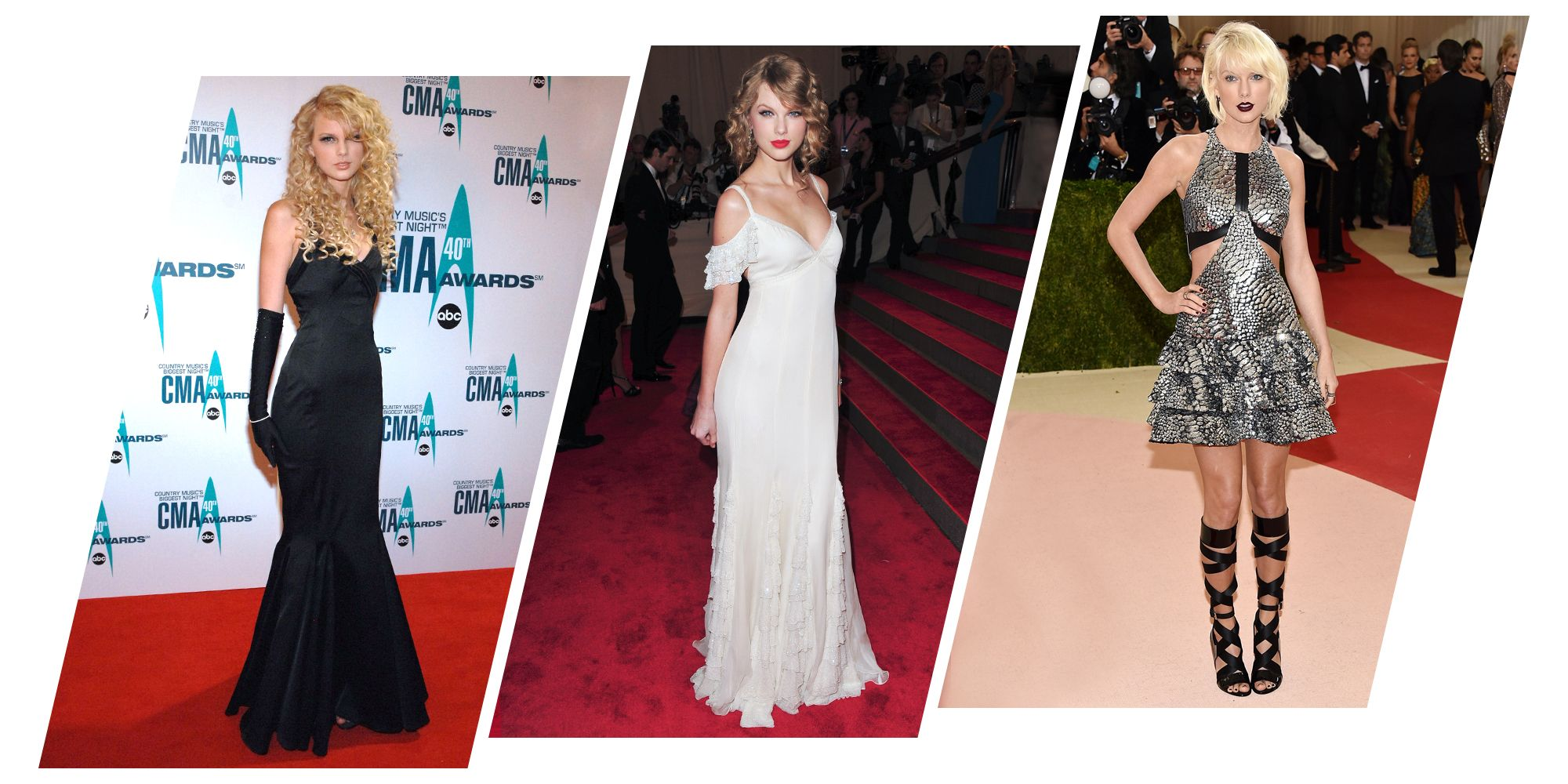 Taylor Swift Style Evolution - Taylor Swift Fashion Through the Years