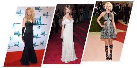 f4b80a028bf41 Taylor Swift Style Evolution - Taylor Swift Fashion Through the Years