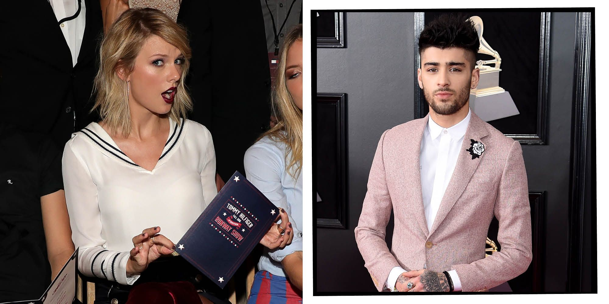 Zayn Malik and Taylor Swift | ELLE UK