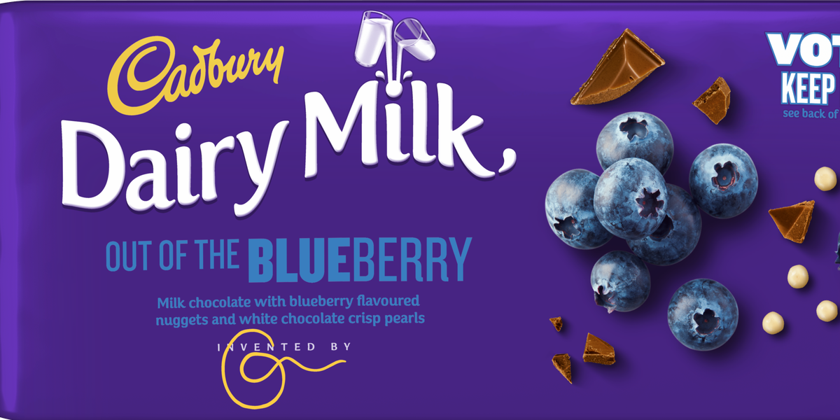 Cadbury Launches Three New Chocolate Bars And One Of Them Is Blueberry Flavour
