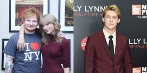 Ed Sheeran gives a cute insight into Taylor Swift and Joe Alwyn's relationship