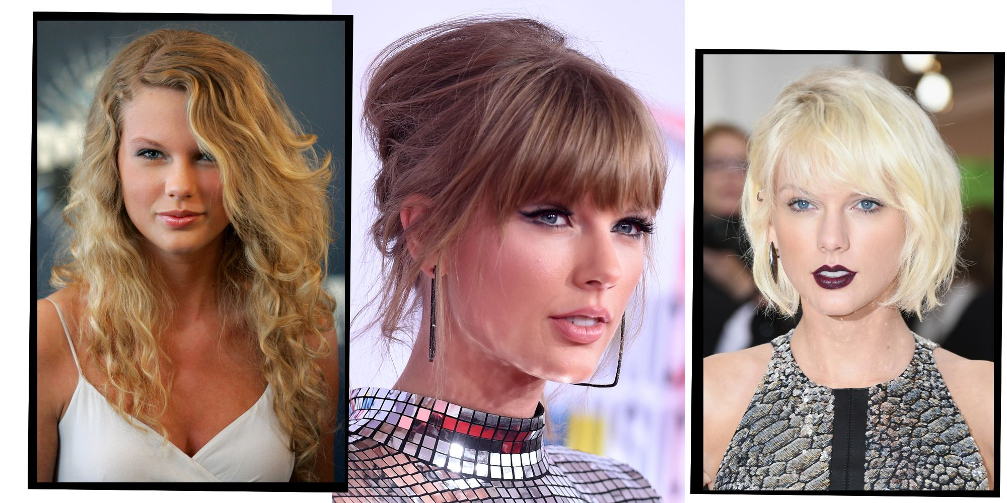 Every One Of Taylor Swifts Award Winning Hair And Make Up Looks