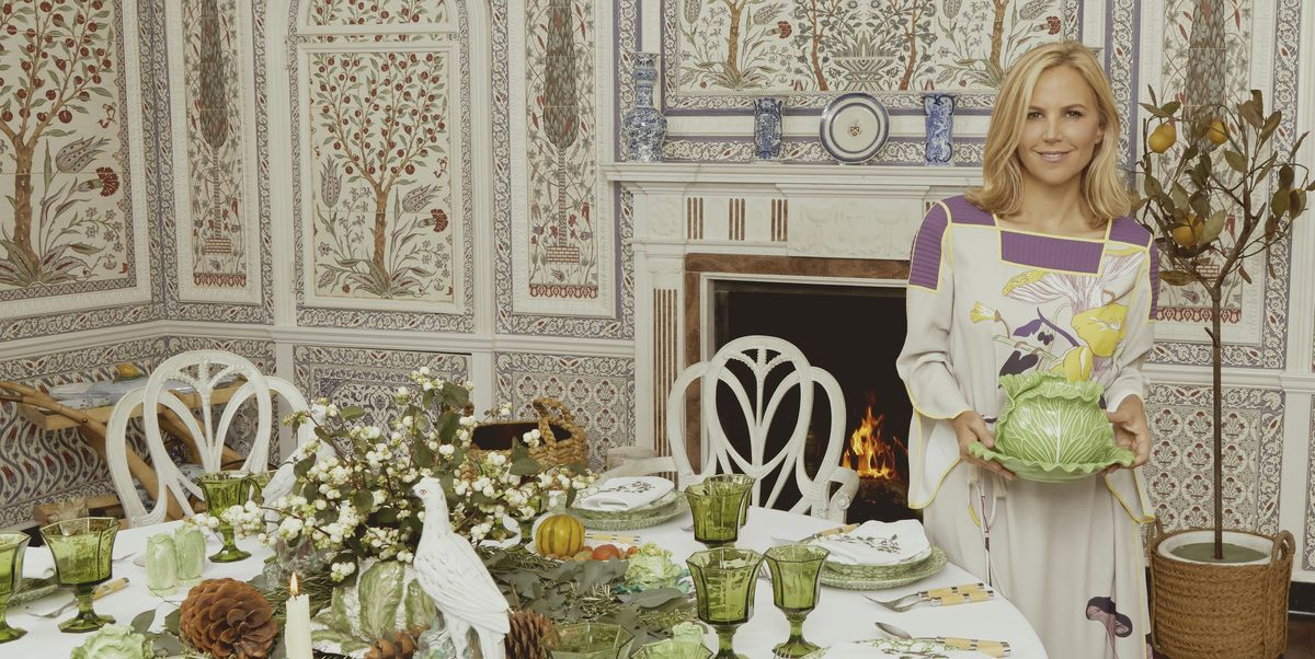 How to Make the Holidays Merry & Bright At Home, According to Tory Burch