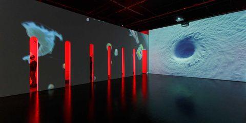 Escape into a virtual world with Rachel Rossin's mesmerising installation