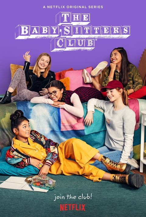 Exclusive Meet The Cast Of Netflix S The Baby Sitters Club