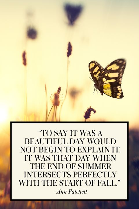 20 Best End of Summer Quotes - Beautiful Quotes About the ...