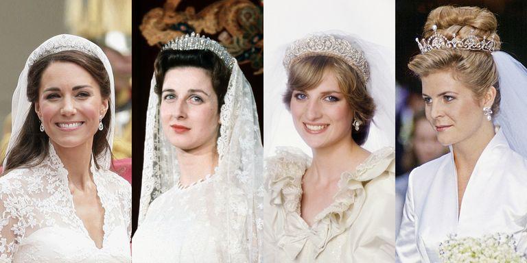 Royal wedding tiaras in history 22 best royal family tiaras ever royal wedding tiara junglespirit Images