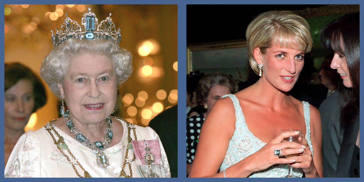 13 Photos of the Royals in Aquamarines, Including Princess Diana's Famous Cocktail Ring