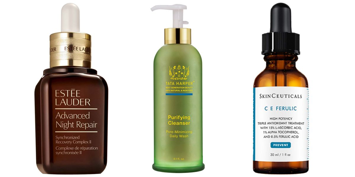 skin care skincare beauty routine items