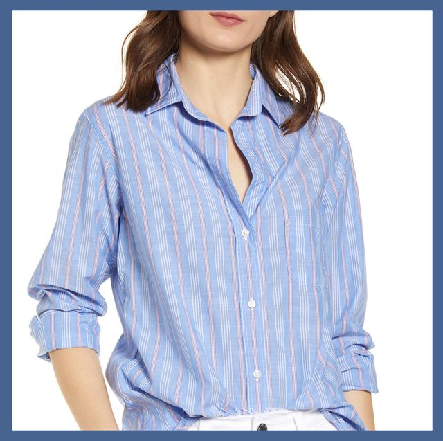 The Best Womens Colorful Button Down Shirts