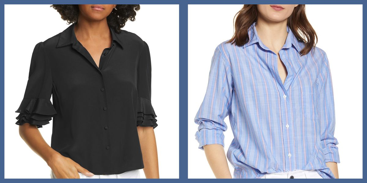 The Most Professional Button Down Shirts to Work From Home In
