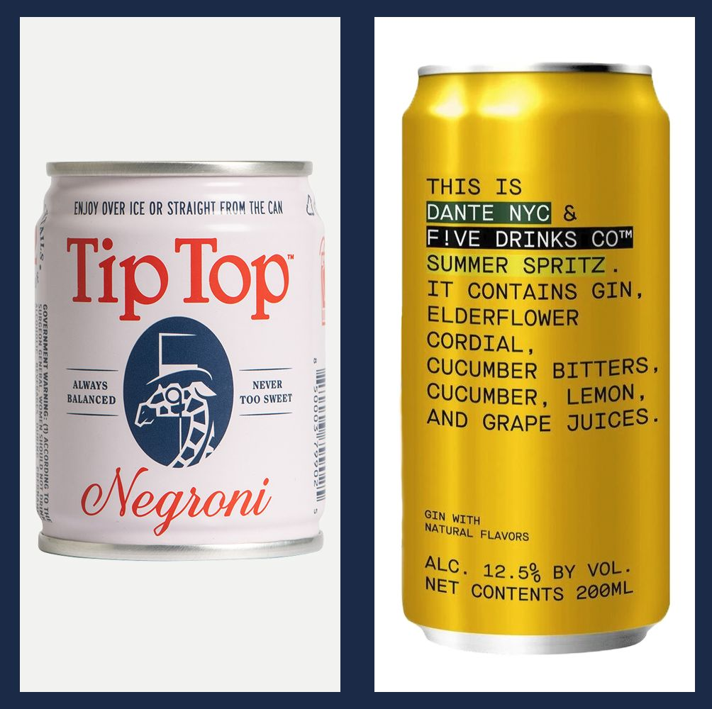 The Best Canned Cocktails for Picnicking, Porching, and Beach Days