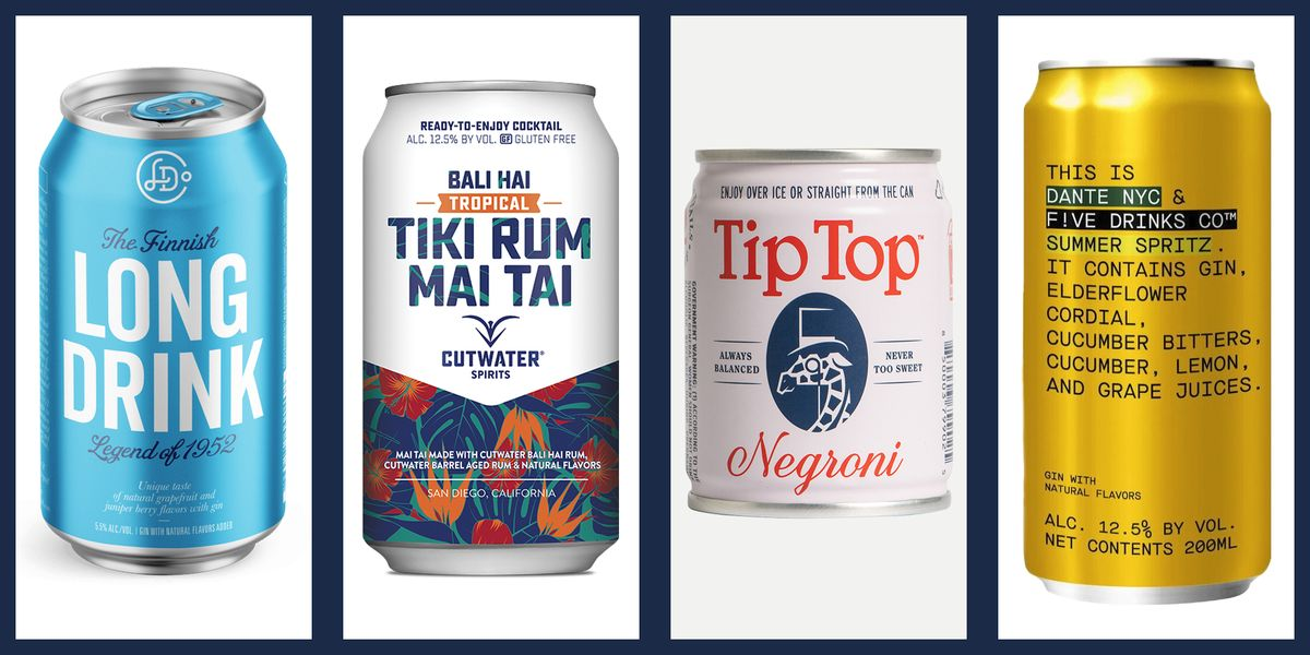 The Best Canned Cocktails to Drink Right Now