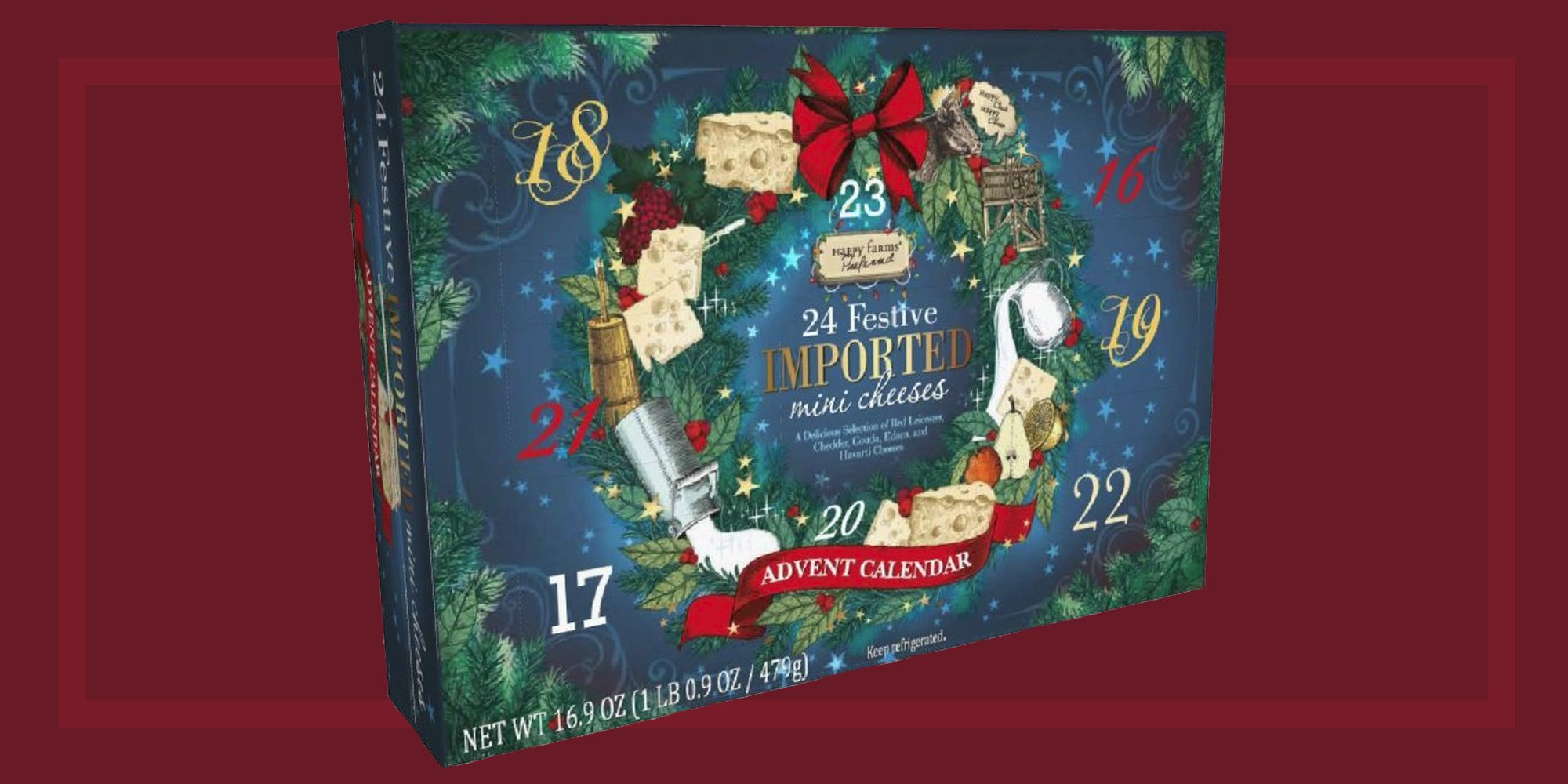 The Best Cheese Advent Calendars For the 2018 Holiday Season