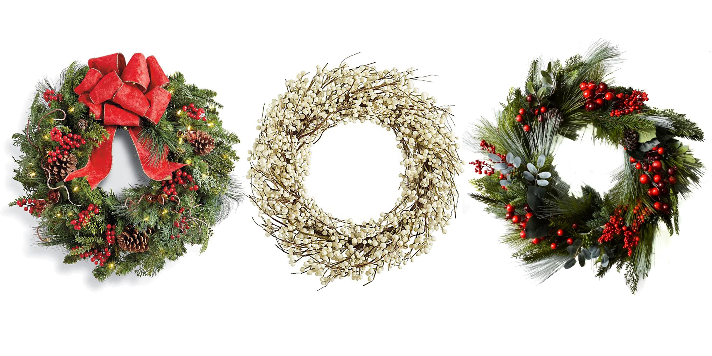 22 elegant christmas wreaths to buy online 2018 best holiday wreath ideas