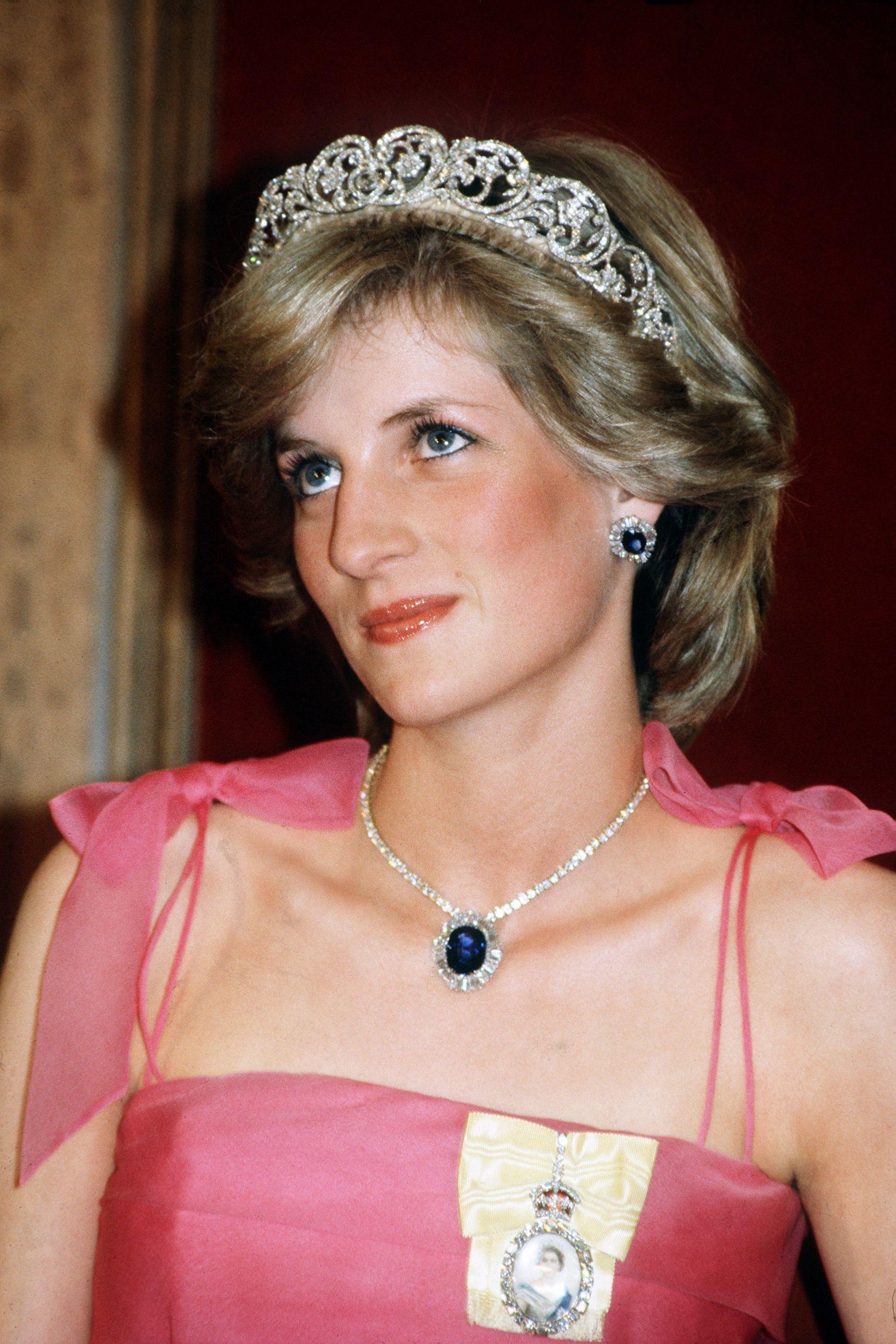 Princess Diana Beaded choker necklace