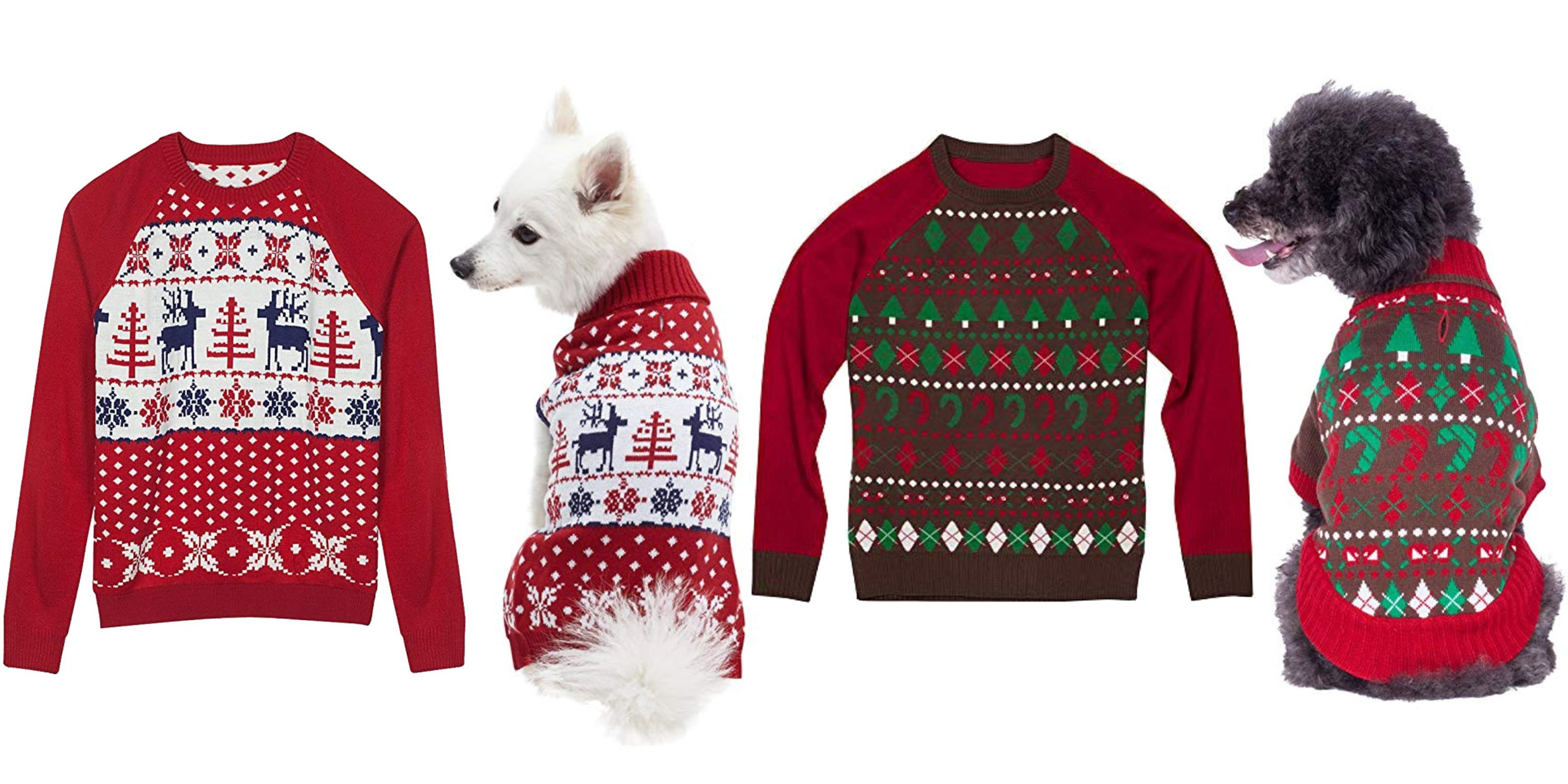 Ugly Christmas Dog Sweater