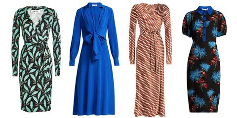 Clothing, Blue, Day dress, Dress, Robe, Outerwear, Fashion, Vintage clothing, Sleeve, Pattern,