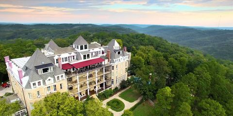 Property, Estate, Natural landscape, Building, Town, Aerial photography, Mansion, Hill station, Real estate, House,