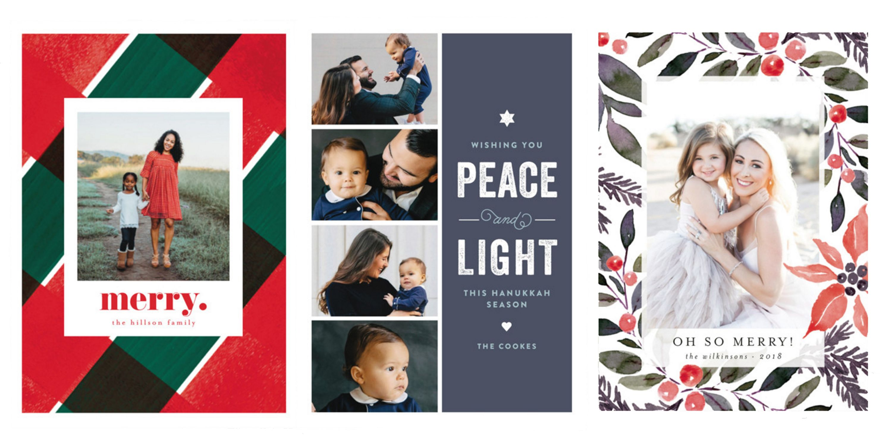 33 Best Holiday Cards of 2018 Custom Christmas Cards