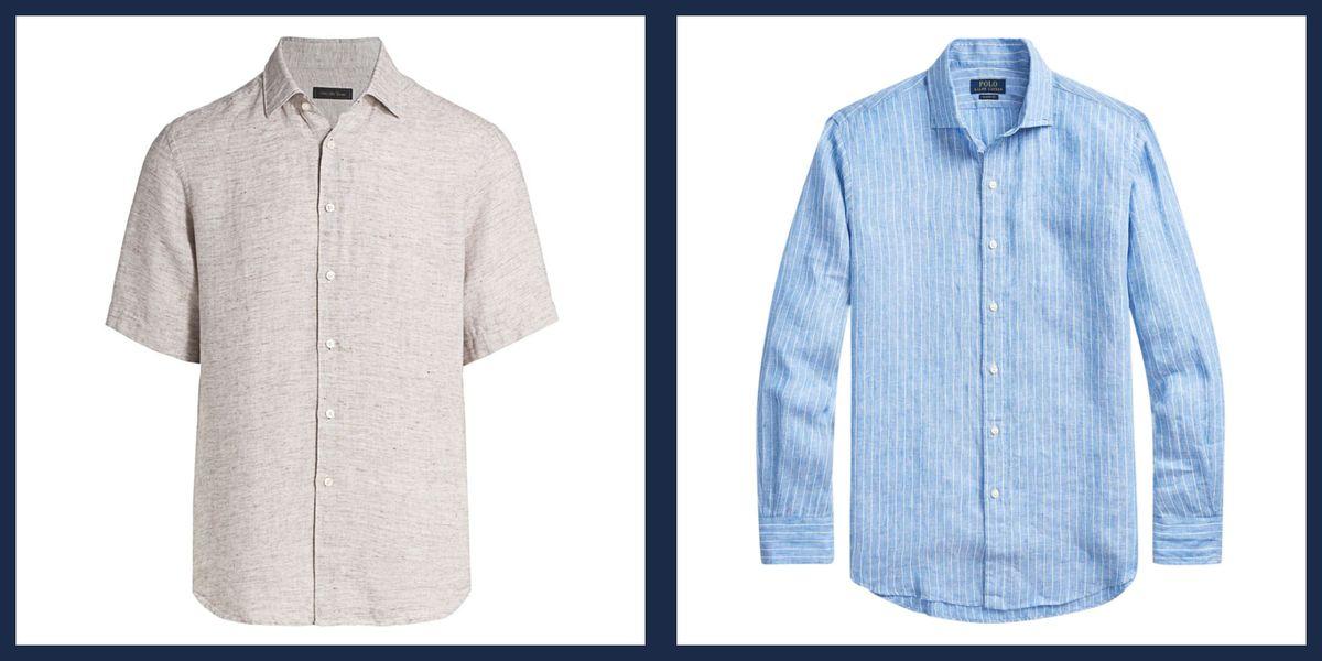 The Best Men's Linen Shirts