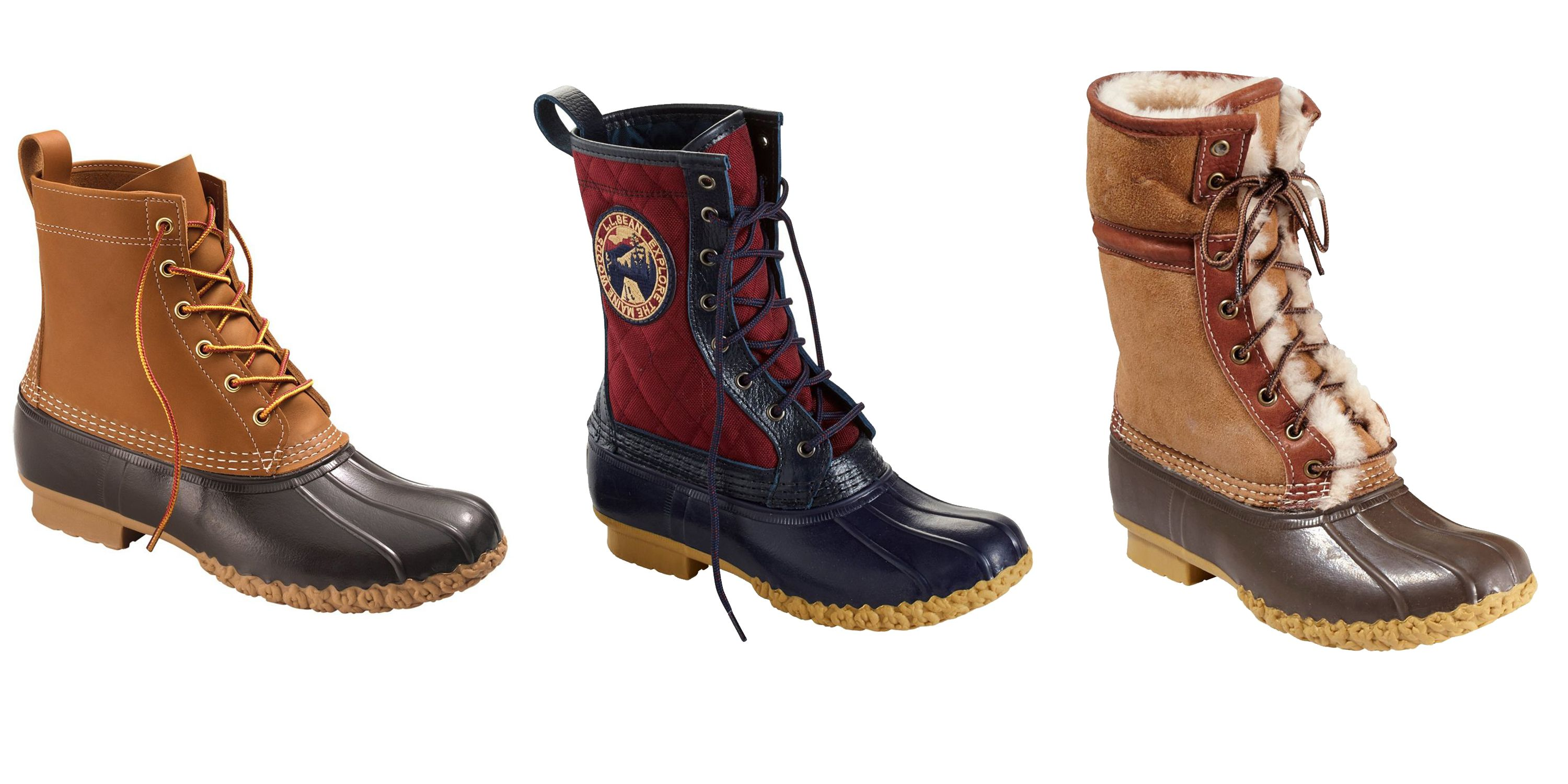 L.L. Bean's Iconic Boots Are 25 Percent Off Right Now Shop