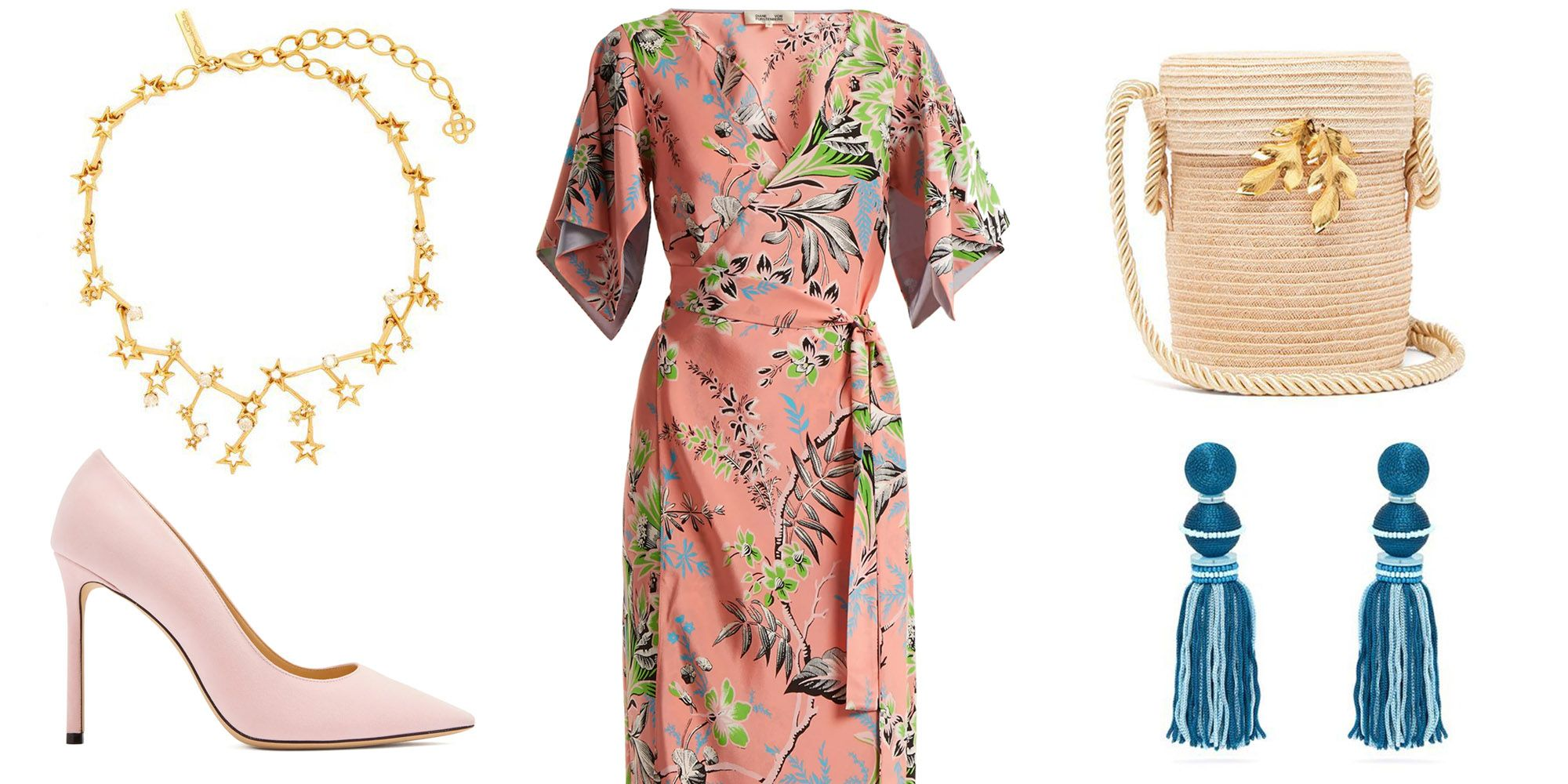 Diane Von Furstenberg Wrap Dresses and Oscar de la Renta Earrings Are Up to 70% Off Right Now