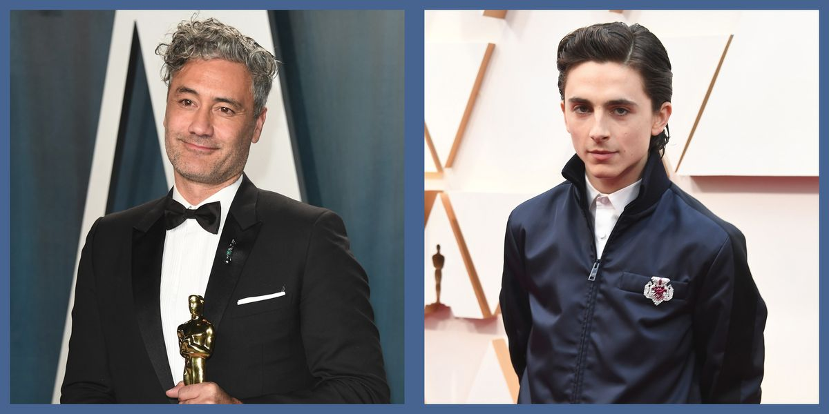 Men's Brooches Were the Most Welcome Jewelry Moment on the Oscars Red Carpet