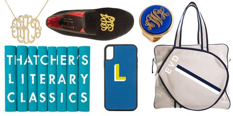 30 Monogrammed Gift Ideas For Perfectly Personalized Presents