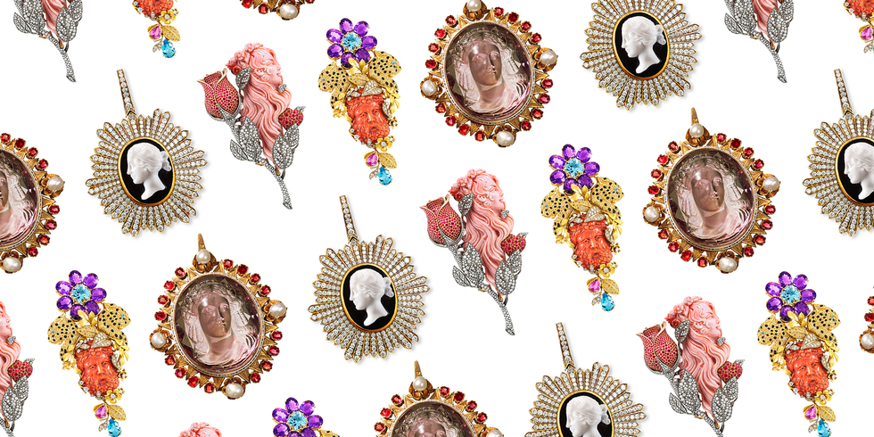 Cameo Jewelry Is Having a Moment