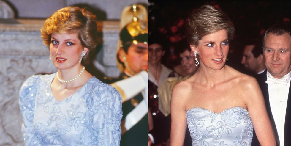 Princess Diana S Recycled Outfits Diana S Most Stylish Repeated