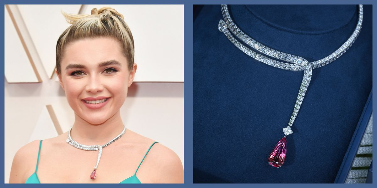 The Royal History of Florence Pugh's Oscars Necklace