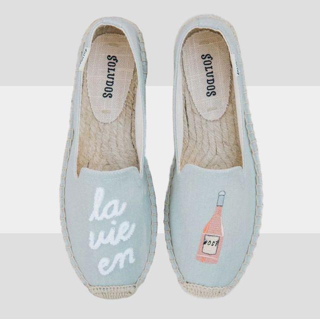 Footwear, Product, Shoe, Espadrille, Label,