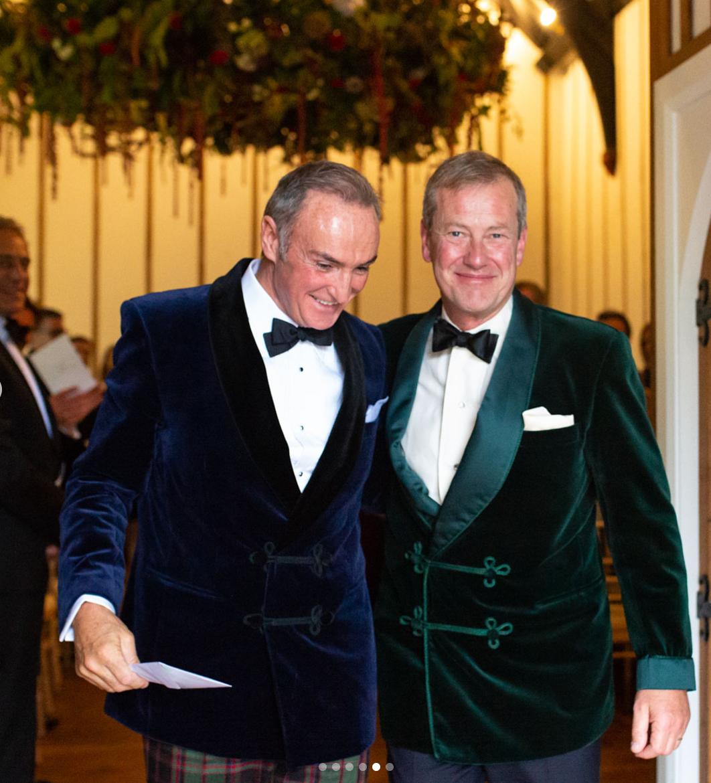 Lord Ivar Mountbatten Has First Same Sex Royal Wedding Queen Elizabeth S Cousin Marries James Coyle