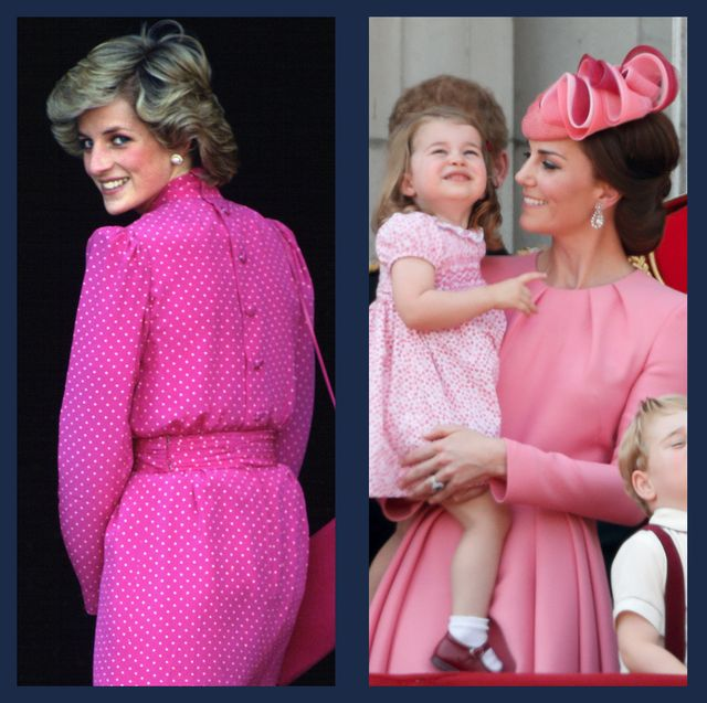 royals in pink
