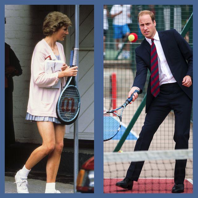 ロイヤルファミリー 英王室 テニス キャサリン妃 ダイアナ妃 ウィリアム王子 エリザベス女王 ヘンリー王子