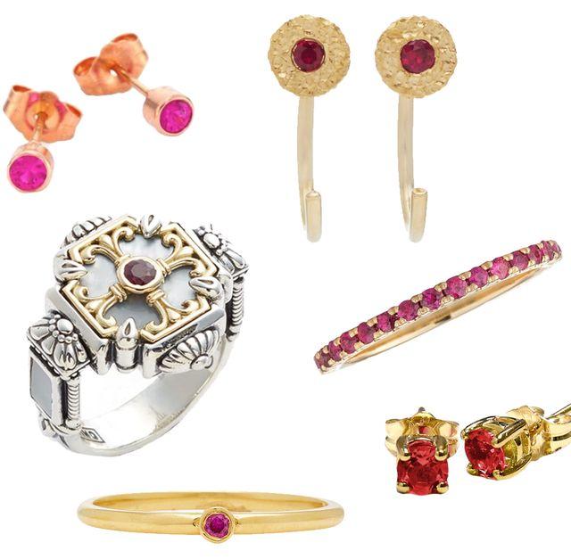 73f313a8f July Birthstone Jewelry - Ruby Jewelry