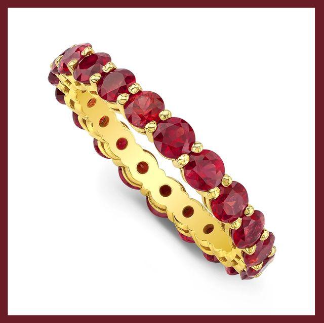 ruby birthstone jewelry