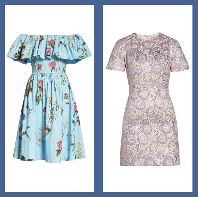 20 Chic Spring Wedding Guest Dresses What To Wear To A Spring 2021 Wedding With so many wedding guest dresses to choose from, finding the perfect dress can be a nightmare, which is why we've rounded up the best of the best. 20 chic spring wedding guest dresses