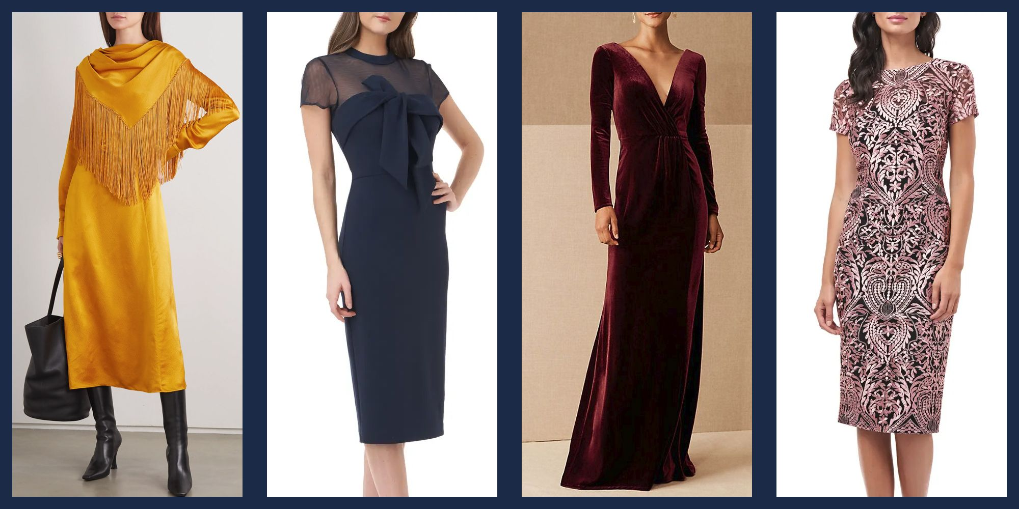 18 Best Winter Wedding Guest Dresses What To Wear To A Winter Wedding