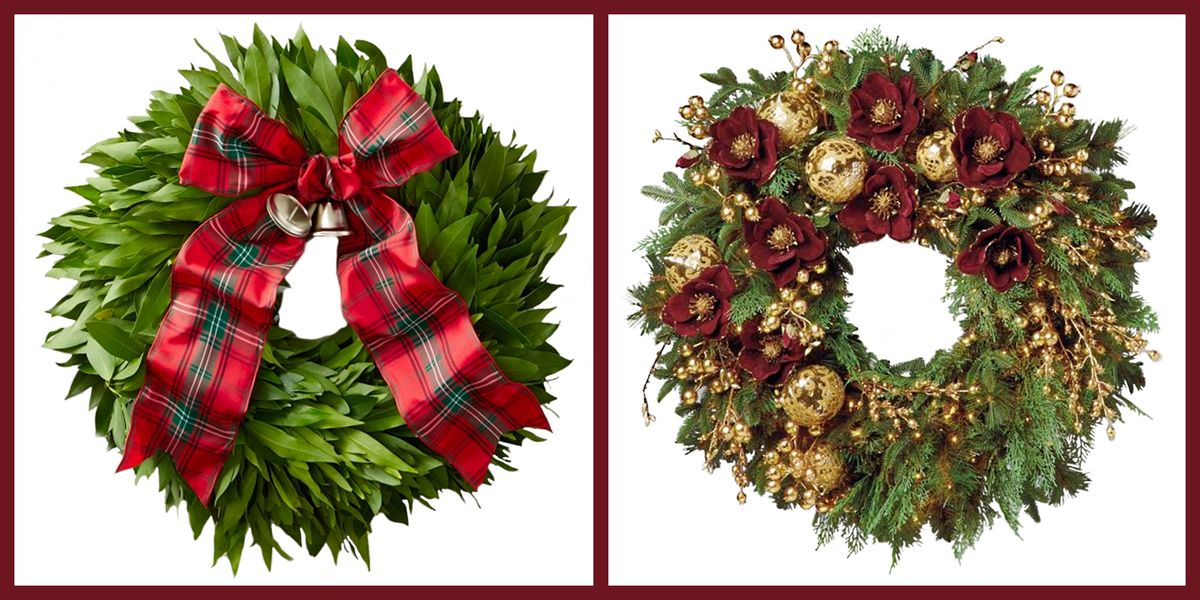 An Elegant Holiday Wreath Is The Easiest Way To Decorate This Season